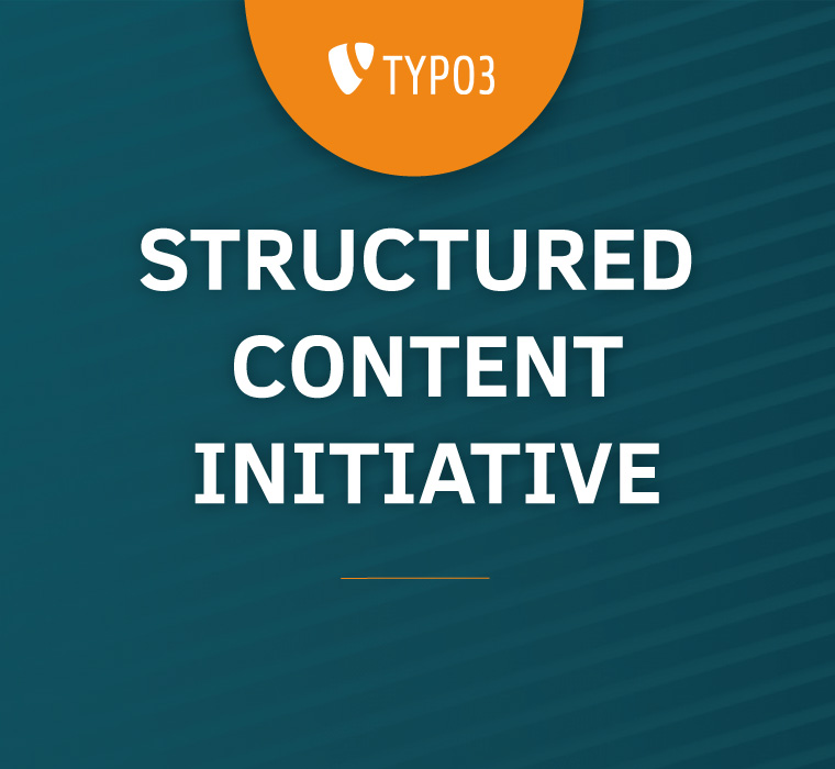 TYPO3 Structured Content Initiative
