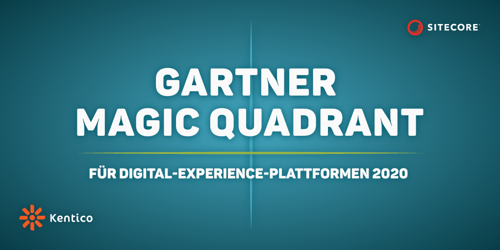 Kentico und Sitecore im Gartner Magic Quadrant
